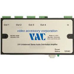 Vac 16-121-504 Unbalanced Stereo Audio Distribution Amplifier