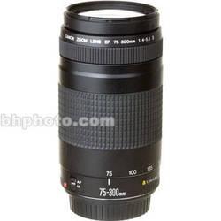 Canon Zoom Telephoto 75-300mm f/4-5.6 II EF Autofocus Lens