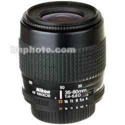 Nikon Zoom Wide Angle-Telephoto 35-80mm f/4-5.6 D (N) Autofocus Lens