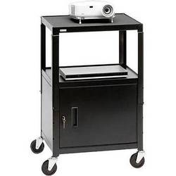 "Bretford Adjustable Cabinet Cart with 4"" Casters"