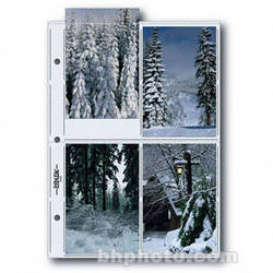 """Print File Premium Series-G Archival Storage Page for Prints, 4x6"""" - 25 Pack"""