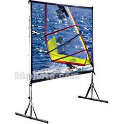 "Draper 218052 Cinefold Portable Projection Screen with Standard Legs (122 x 164"")"
