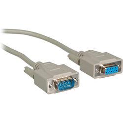 General Brand DB9P-DB9J-10 DB 9-pin Plug-to-Plug RS-232 Cable (10')