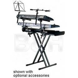 QuikLok QL-746 X-Style Single Tier Double-Brace Pro Series Keyboard Stand