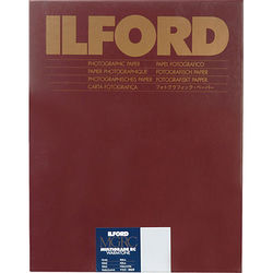 """Ilford Multigrade Warmtone Resin Coated Paper (11 x 14"""", Pearl, 50 Sheets)"""