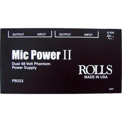 Rolls PB223 Dual 48V Phantom Power Supply