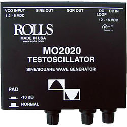 Rolls MO2020 Testoscillator Wave Generator