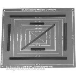 General Brand 18% Gray Magnetic Copyboard