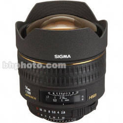 Sigma Super W/A 14mm f/2.8 EX Aspherical HSM AF Lens