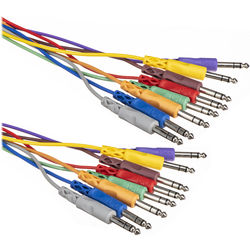 """Hosa Technology CSS805 8-Channel 1/4"""" Phone to 1/4"""" Phone Snake Cable - 16.5' (5 m)"""