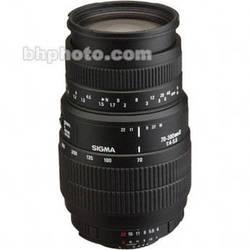 Sigma 70-300mm f/4-5.6 DL Macro Super II Autofocus Lens for Nikon AF-D