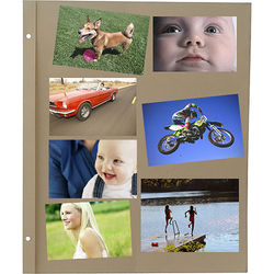 Pioneer Photo Albums Refill Pages for the Pioneer SJ-100 Jumbo Scrapbook (Pack of 25)
