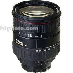 Sigma 28-200mm f/3.5-5.6 DL Aspherical Hyperzoom Macro AF Lens - Black