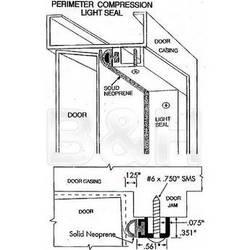 "Arkay Light Tight Seal Kit for 30"" Darkroom Door"