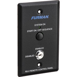 Furman RS-2 Remote Control Panel
