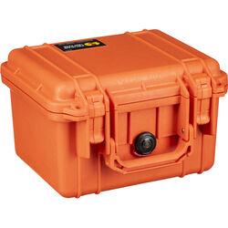 Pelican 1300 Case without Foam (Orange)
