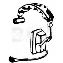 Telex PH-1PT - Medium-Weight Single-Muff Communications Headset