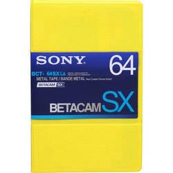 Sony BCT-64SXLA Betacam SX Cassette