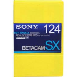 Sony BCT-124SXLA Betacam SX Cassette