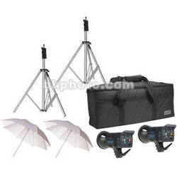 SP Studio Systems Excalibur 3200 2-Light Lighting Kit with Case
