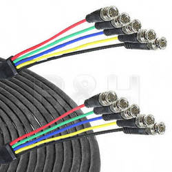 Comprehensive 5-BNC Male to 5-BNC Male Cable - 100 ft