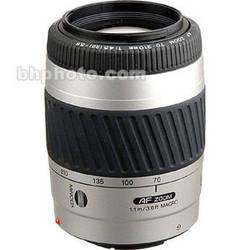 Konica Minolta Zoom Telephoto AF 70-210mm f/4.5-5.6 II Autofocus Lens - Silver