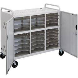 Advance CT-LS30 Laptop Storage Cart (Dove Gray)