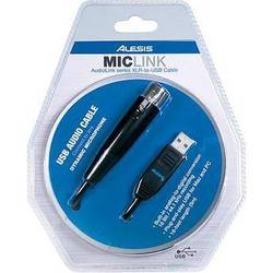 Alesis MicLink - XLR to USB Cable
