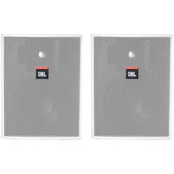 JBL Control 25AV-WH Monitor - White (Pair)