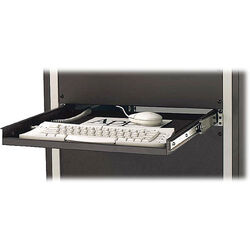 Winsted Rack Mount Keyboard Shelf (Black)