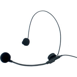 Azden HS-11H Headset Mic with 4-Pin Connector