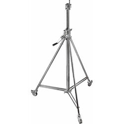 Avenger Wind Up Stand 26 with Braked Wheels (Chrome-plated, 8.5')