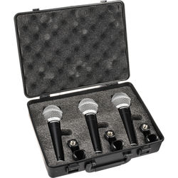 Samson R21 Dynamic Vocal/Presentation Mic (3-Pack)