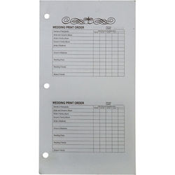 Winthrop-Atkins Order Forms for Proof Album Book - 5 x 5""
