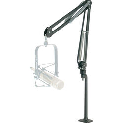O.C. White Deluxe Microphone Arm and Riser System (Black)