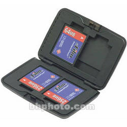 Hakuba DMS-CF4 CF Card Case (Titanium Finish)