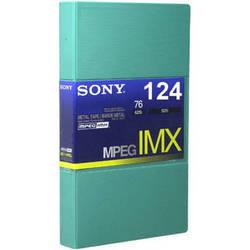 Sony BCT124MXL MPEG IMX Video Cassette, Large