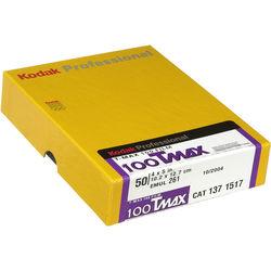 """Kodak TMX (#4052) 4x5"""" 50 Sheets T-Max 100 B&W Print Film (ISO-100)"""