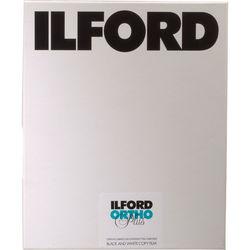 """Ilford Ortho Plus 8x10"""" B/W Negative Film - 25 Sheets"""
