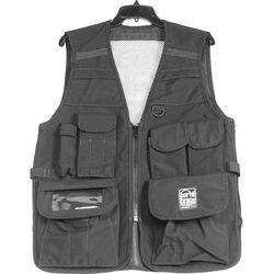 Porta Brace VV-M Videographer Vest (Medium, Black)