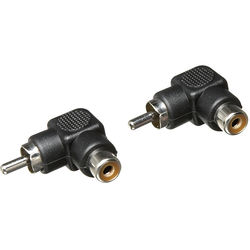 Hosa Technology RCA Male to Female Adapter- (2 Pieces)