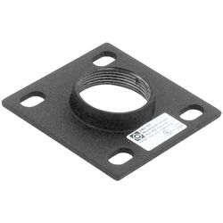 "Chief CMA-105 4"" Ceiling Plate with 1.5"" NPT Opening"