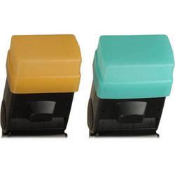Sto-Fen OC-EZSET Green and Gold Omni-Bounce Diffuser Set