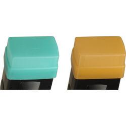 Sto-Fen OC-EXSET Green and Gold Omni-Bounce Diffuser Set