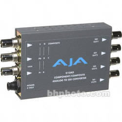 AJA D10AD Analog to Digital Video Converter (Encoder)