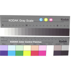 "Kodak Color Separation Guide and Gray Scale (Q-13, 8"" Long)"