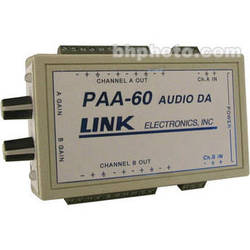 Link Electronics PAA-60 Portable 1x8 Audio Distribution Amplifier