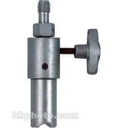 "Mole-Richardson Adapter: 1/2""-13 Thread to Junior (1-1/8"") Radius End Pin"