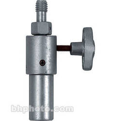 "Mole-Richardson Adapter: 1/2""-13 Thread to Junior (1-1/8"") Flat-End Pin"