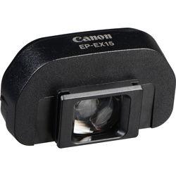 Canon EP-EX15 Eyepiece Extender for Select Canon EOS Cameras